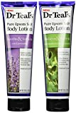 Dr Teals Lotion Bundle 2 Items: Relieve & Soften/Soothe & Soften Body Lotion