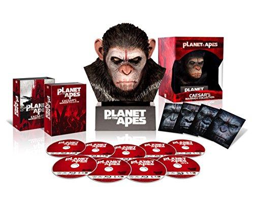 猿の惑星 ブルーレイ・コレクション ウォーリアー・シーザー・ヘッド付 (700セット数量限定生産) [Blu-ray]