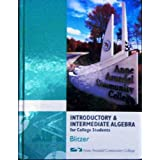 Introductory & Intermediate Algebra For College Students, third Edition, with CD ~ Robert Blitzer