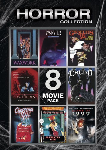 Horror Collection (Waxwork / 976-EVIL II / Ghoulies III / The Unholy / C.H.U.D. II / Chopping Mall / Slaughter High / Class of 1999) by Lions Gate (Waxwork Ii compare prices)