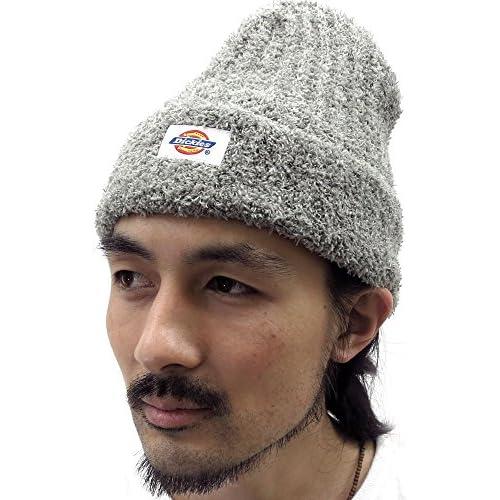 (ディッキーズ) Dickies ニット帽 メンズ 帽子 ワッチ ソフト 5color Free ミディアムグレー