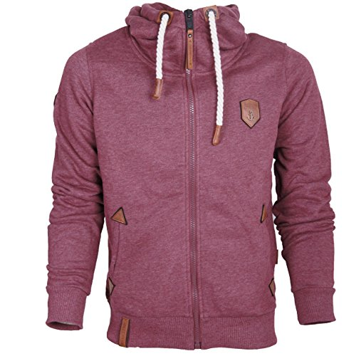 Naketano Men's Zipped Jacket Schwarzkopf