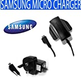 SamSung Micro ETA3U30UBE Travel Mains Charger For : Ativ S, B3310, B5310 Corby PRO, B5722, B7620 Giorgio Armani, B7722, Beam I8520, Beat DISC, Blade, Blue Earth, C3300 Libre, C3350 Solid X Cover, C3630, C5510, C6112, Chat 222, Chat 322, Chat 335 , Chat B