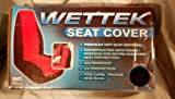 Elegant 1964119S Black/Red High Back Wettek Seat Cover