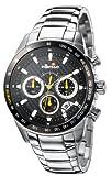 ellesse (エレッセ) 腕時計 SPORTIVO531クロノグラフ 03-0378-501 ブラック×イエロー