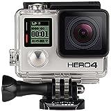 GoPro HERO4 Silver Moto Edizione Videocamera, 12 MP, Touch Screen, Nero/Antracite