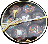 Chocolate Dipped Oreo Cookies Decorated for Easter with Easter Eggs and Chicks, Easter Bunny, Easter Gift