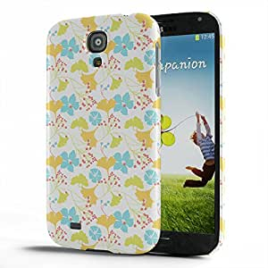 Koveru Designer Protective Back Shell Case Cover for Samsung Galaxy S4 - Lily Pattern