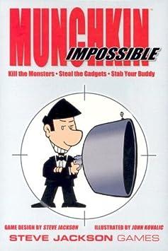 Munchkin - 332166 - Jeu De Cartes - Impossible