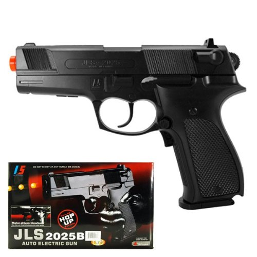 JLS Electric M2025B Walther P88 Style Electric FPS-120 Full Auto Blowback Airsoft Pistol Airsoft Gun