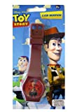 Toy Story Kids Watch - Disney Toy Story Woody LCD Watch (Brown)