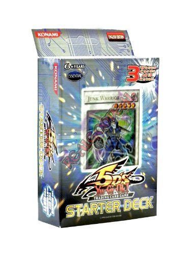 YuGiOh 5D's 2008 English Unlimited 'Junk Warrior' Starter Deck [Toy] by Yu-Gi-Oh! (Starter Deck Junk Warrior compare prices)