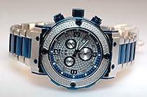Aqua Master Mens Diamond Watch 0.20ct w-146