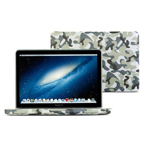 GMYLE(R) 迷彩柄 繊維系コーティング ハードケース MacBook Pro 13 inch 専用
