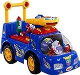 Correpasillos y andados para bebes - Portador con funcion empuja -Tire del juguete - Coche para bebe - Coches para ninos - Baby car ARTI 3216 Ufo Car Blue Ride-On