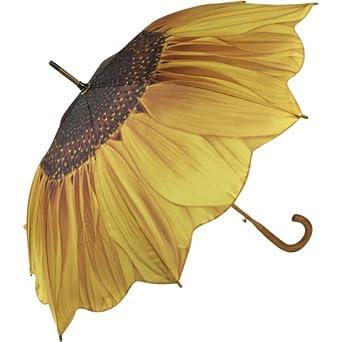 Galleria Sunflower Bloom Stick Umbrella (Sunflower Bloom)