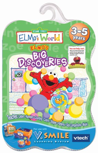 V.Smile Smartridge: Elmo's World - Elmo's Big Discoveries - 1