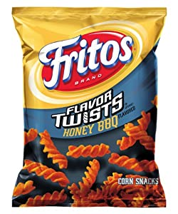 Fritos Corn Chips, Twists Honey BBQ, 10.25 Ounce (Pack of 4)