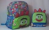 Yo Gabba Gabba! Backpack and Lunch Kit (2 Piece Set)