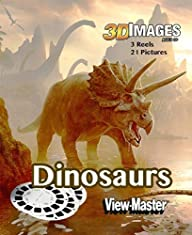 Viewmaster DINOSAURS – 3 Reels 21 3D…