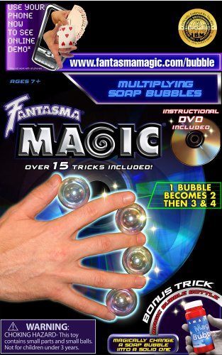 Fantasma Toys Multiplying Soap Bubbles with DVD