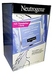 NEUTROGENA Makeup Remover Cleansing Towelettes, 125 Towelettes Vanity