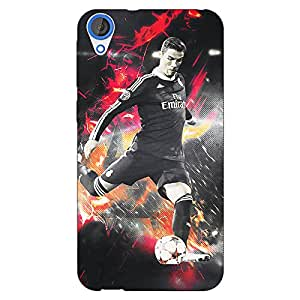 Jugaaduu Cristiano Ronaldo Portugal Back Cover Case For HTC Desire 820Q Dual Sim