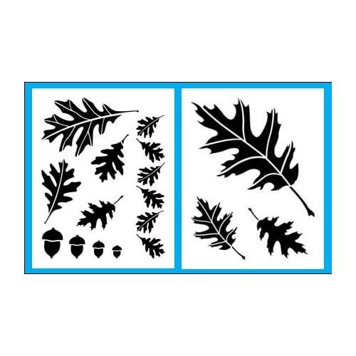 Amazon.com: Oak Leaf and Acorn Stencils