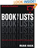 Disinformation Book of Lists: Subversive Facts and Hidden Information in Rapid-Fire Format