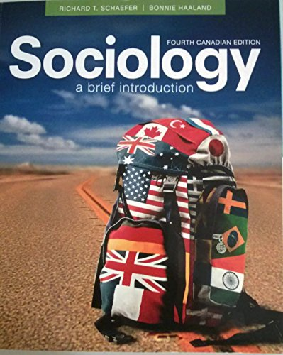 Sociology; A Brief Introduction. (Paperback)