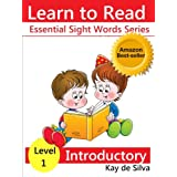 Essential Sight Words Level 1 - Introductory Readers (Set of 8 books) (Learn to Read Books) ~ Kay de Silva