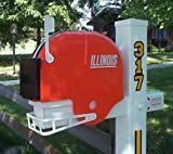 Illinois Fighting Illini Helmet Style Mailbox at Amazon.com