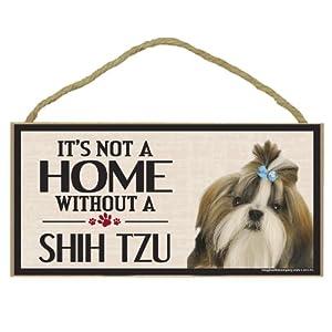 Imagine This Wood Sign for Shih Tzu Dog Breeds