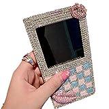 Bonzer Style Diamond View Window Flip Case Cover for Samsung Galaxy Note 3 N9000 Note 2 N7100 S3/i9300 S4 I9500 S5/i9600 (For Samsung Galaxy S4 I9500)