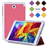WAWO Samsung Galaxy Tab 4 8.0 Inch Tablet Smart Cover Creative Fold Case - Pink