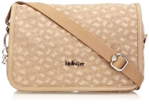 Kipling Women's Delphin N Cross-Body Bag, Caramel MM, K1250005E