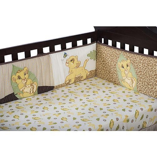 Kids Line Lion King Crib Bumper