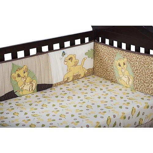 Kids Line Lion King Crib Bumper - 1