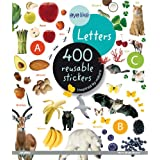 "Eyelike Stickers: Letters: 400 Reusable Stickers Inspired by Naturevon ""Play Bac Publishing"""