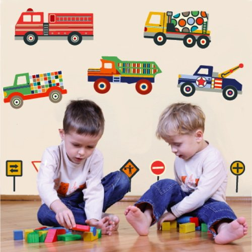 terrific-trucks-movable-mural-wall-decals-trucks-only-repositionable-peel-and-stick