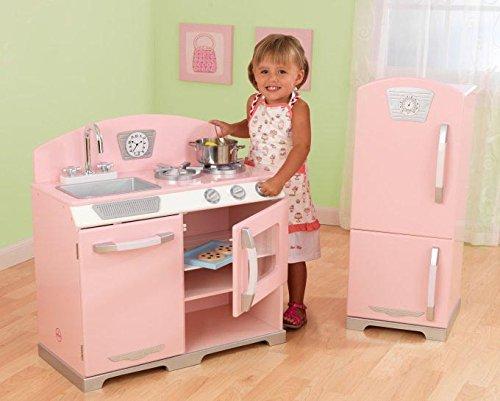 Pink Retro Kitchen Pink
