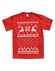 Rocket Factory CHRISTMAS SWEATER T SHIRT