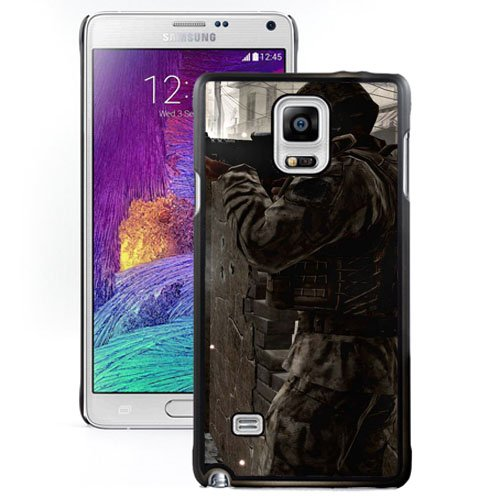 Samsung Galaxy Note 4 case, Call Of Duty Modern Warfare Soldiers Machine Explosion Samsung Galaxy Note 4 phone case