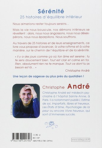 libro s r nit 25 histoires d 39 quilibre int rieur di christophe andr. Black Bedroom Furniture Sets. Home Design Ideas