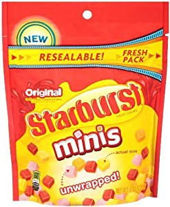 Starburst, Original Minis Candy, 8oz Bag (Pack of 2)