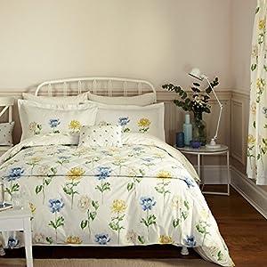 sanderson bedding hana double duvet cover set ivory. Black Bedroom Furniture Sets. Home Design Ideas