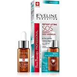 EVELINE Cosmetics Face Therapy Instant Lifting SOS Oil 20ml Agains Deep Wrinkles 100% Hyaluronic Acid