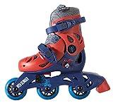 Ultimate Spiderman Convertible 2-in-1 Kids Skate, Junior Size 6-9