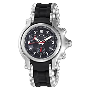 Oakley Men's 10-246 Holeshot Stainless Steel Bracelet Edition Chronograph Watch