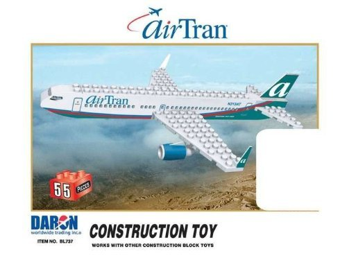 Daron Airtran 55 Piece Construction Toy (Airtran Model compare prices)